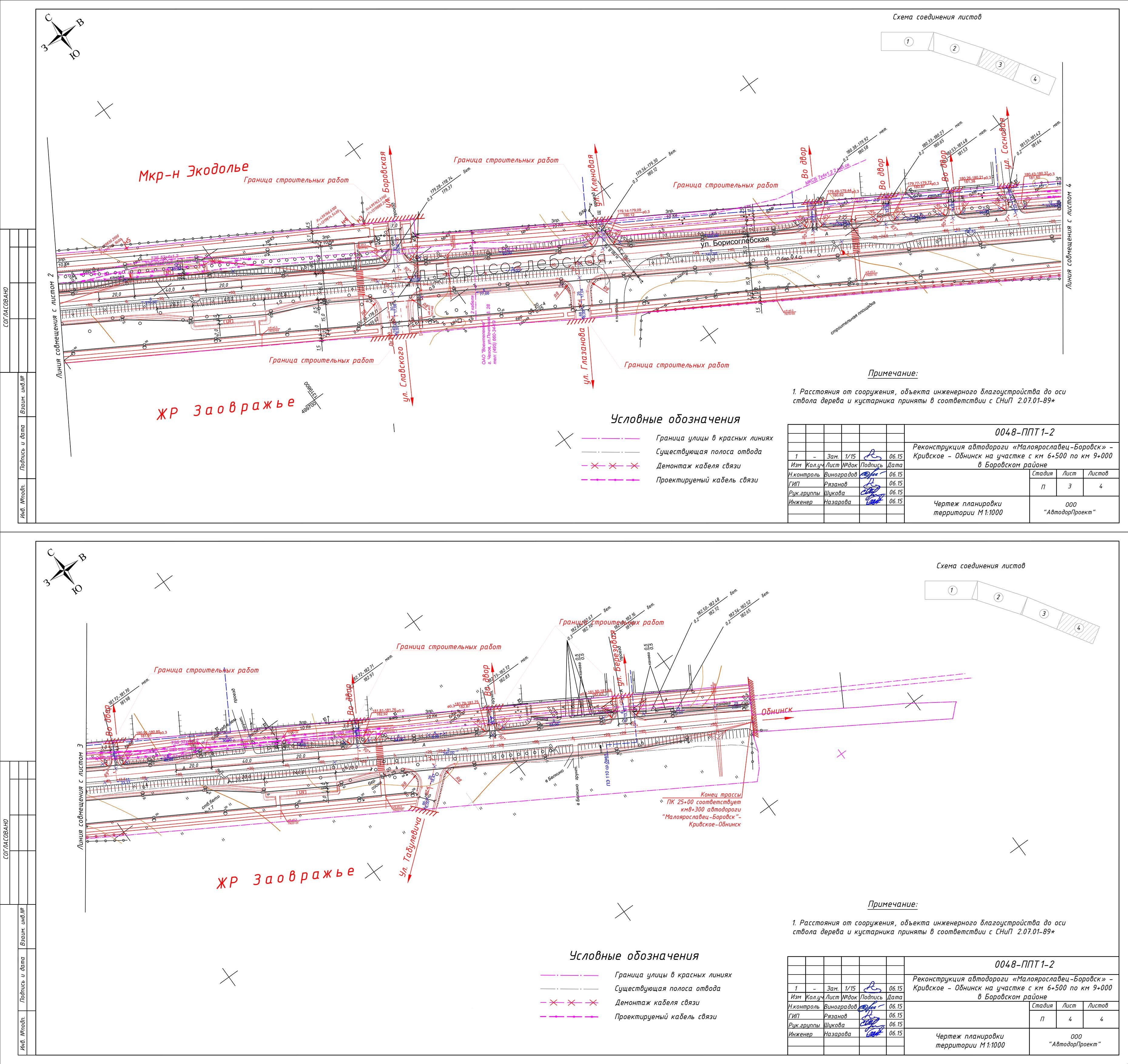 схема проезда к санаторию сигнал г обнинск