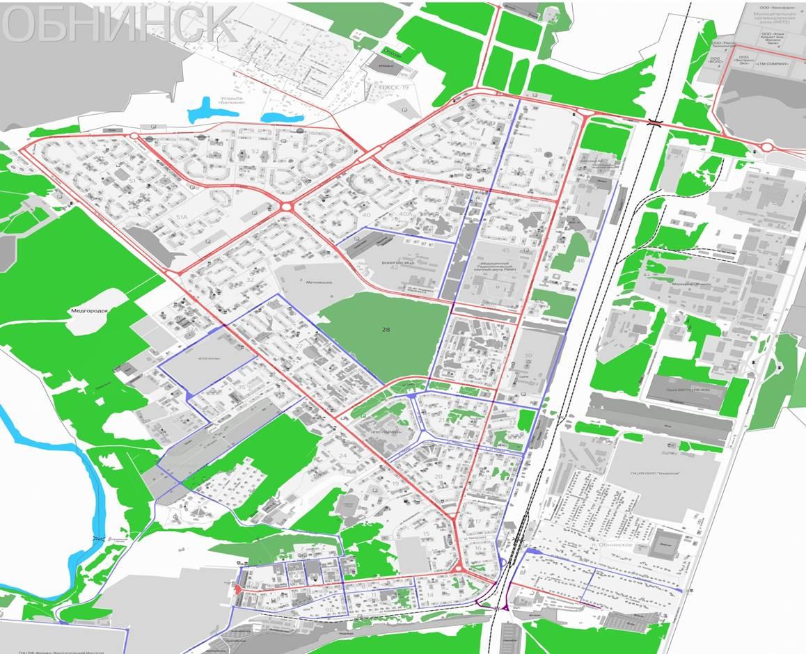 Схема калуги улицы и дома