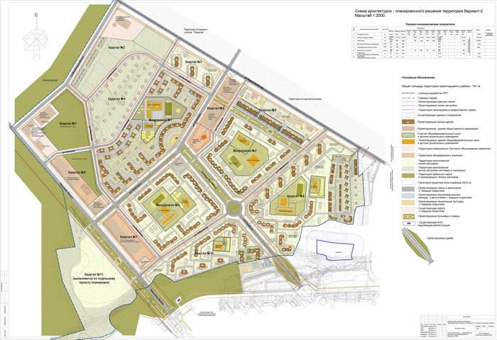 Проект планировки жилого