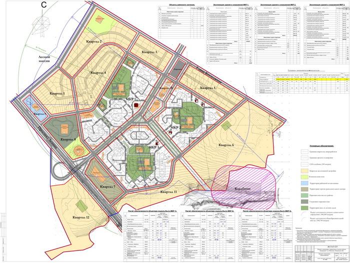 Cкачать схему планировки жилой